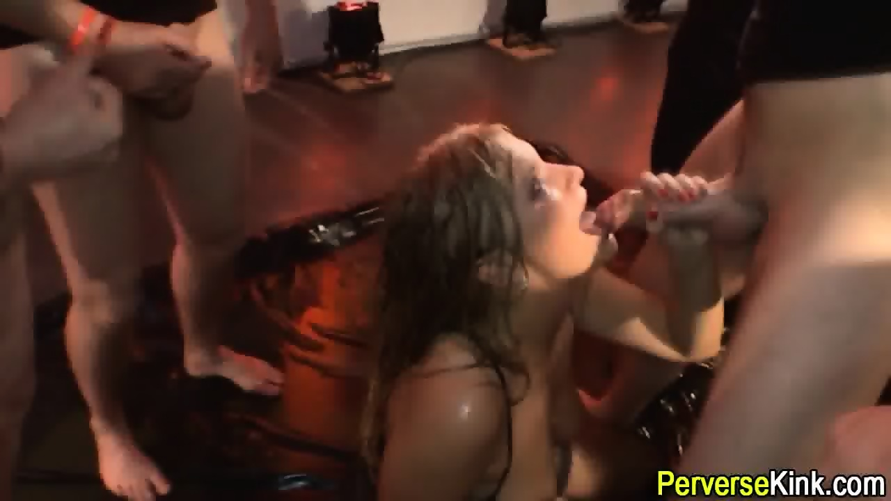 image Pee fetish babe sticks toy in asshole
