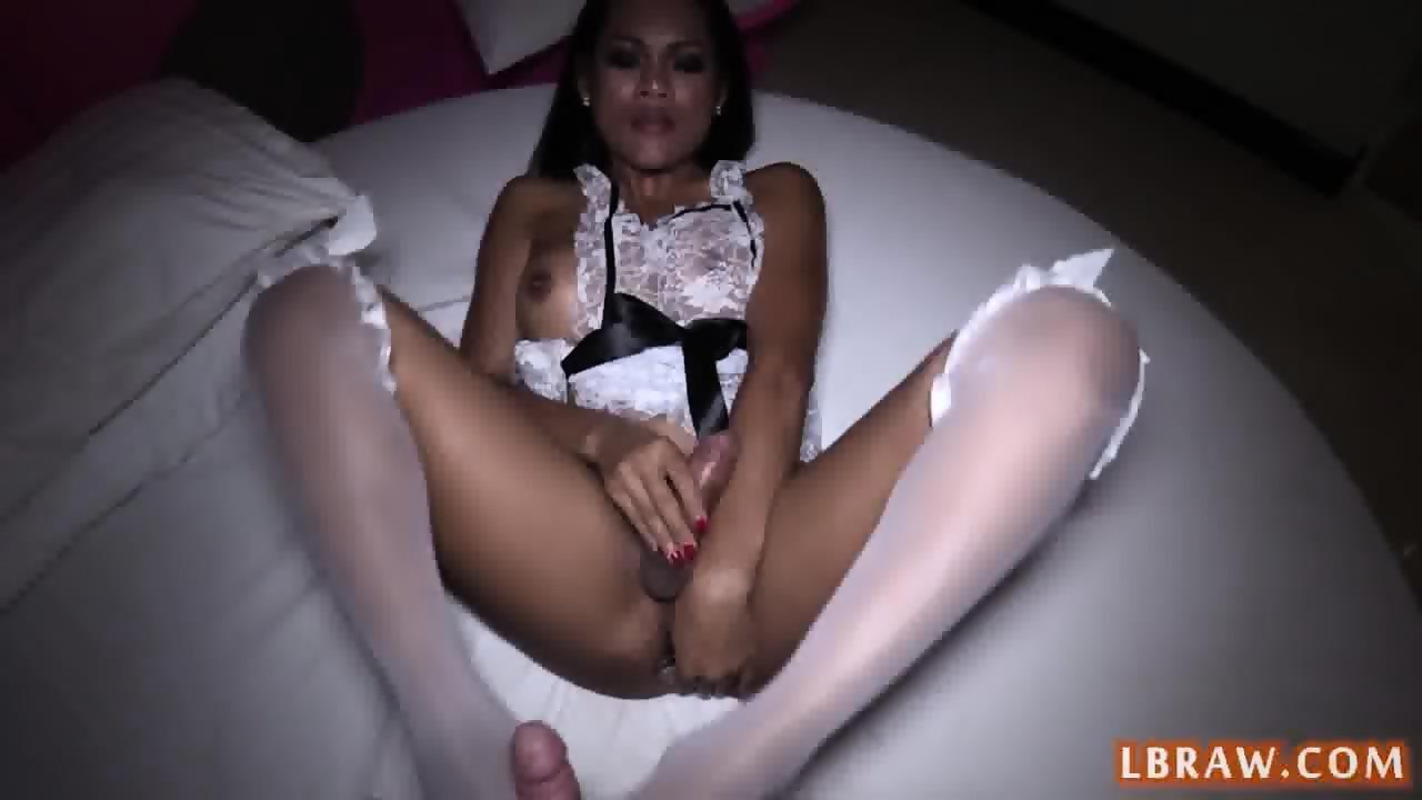 Ass thai ladyboy bareback