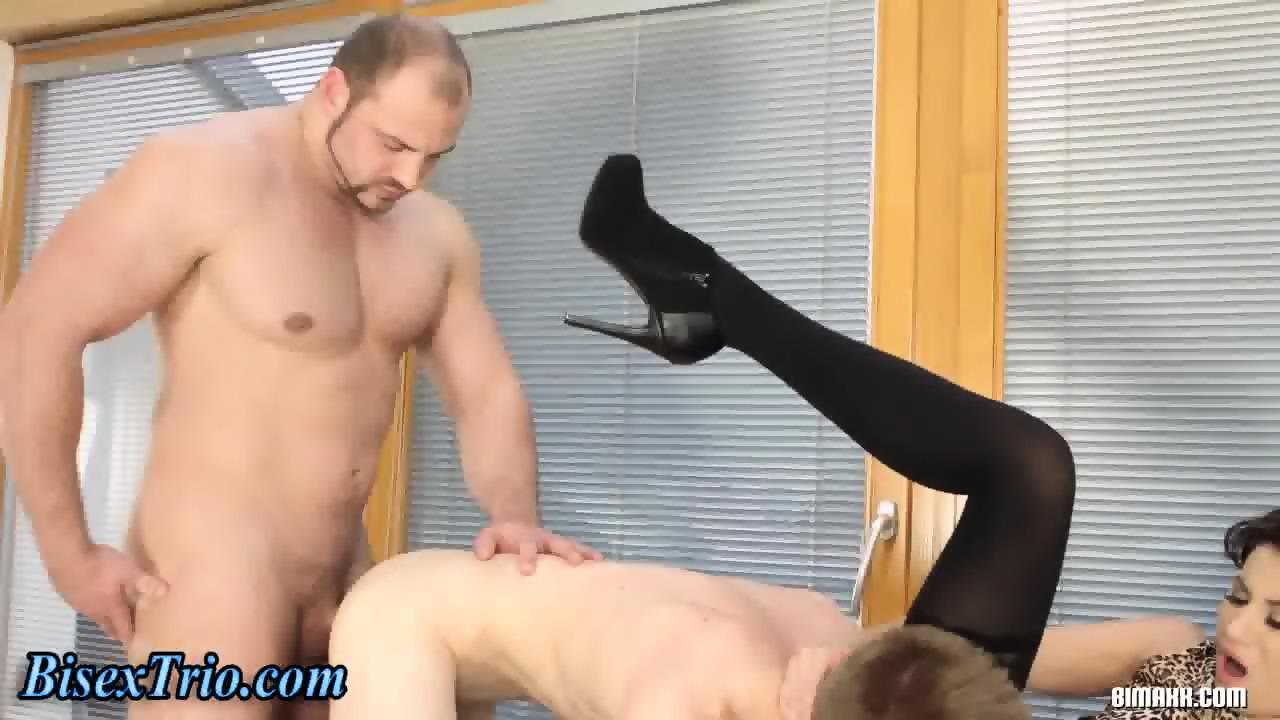 Lustful Bi Trio Ass Fuck