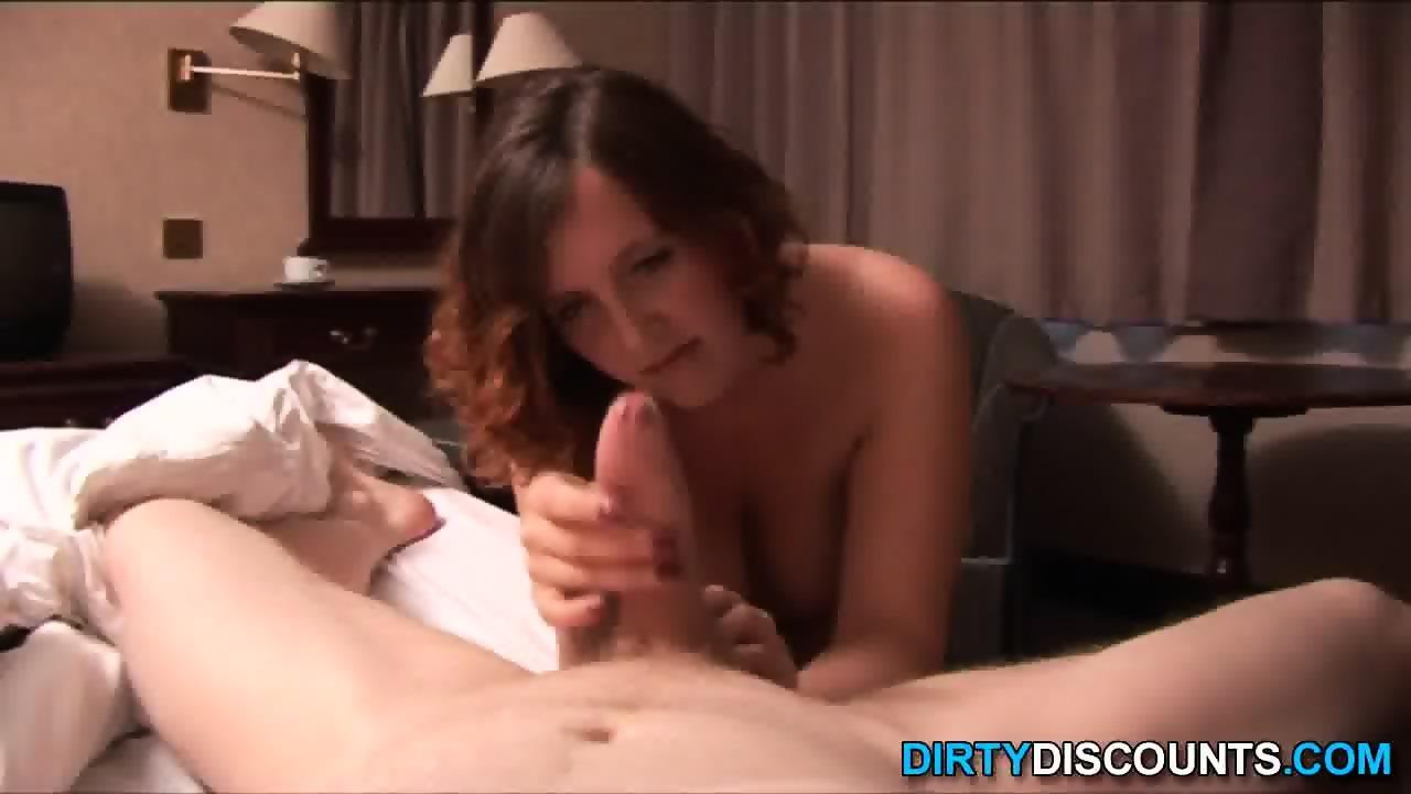 image Brit gf punishing dick for waking her up