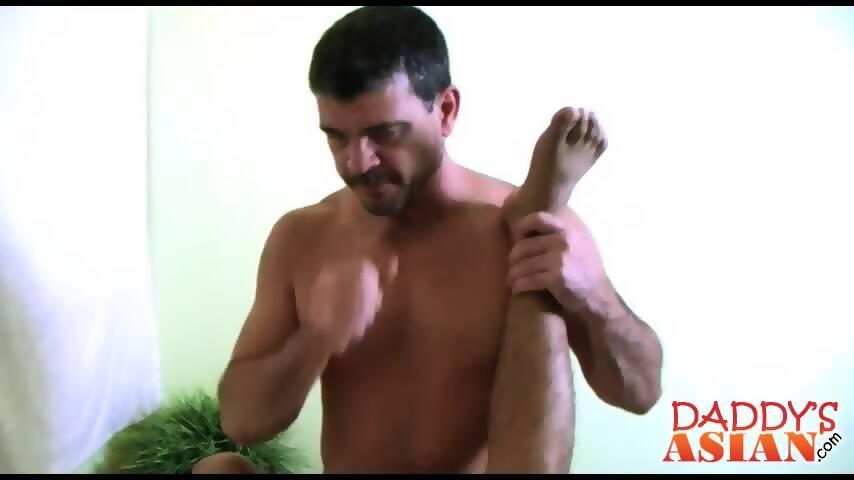 Asian ladyboy anal sex