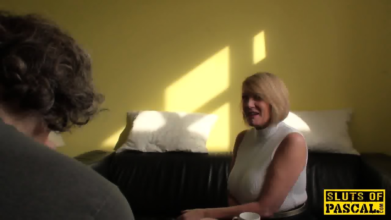 Mature spanked and fucked