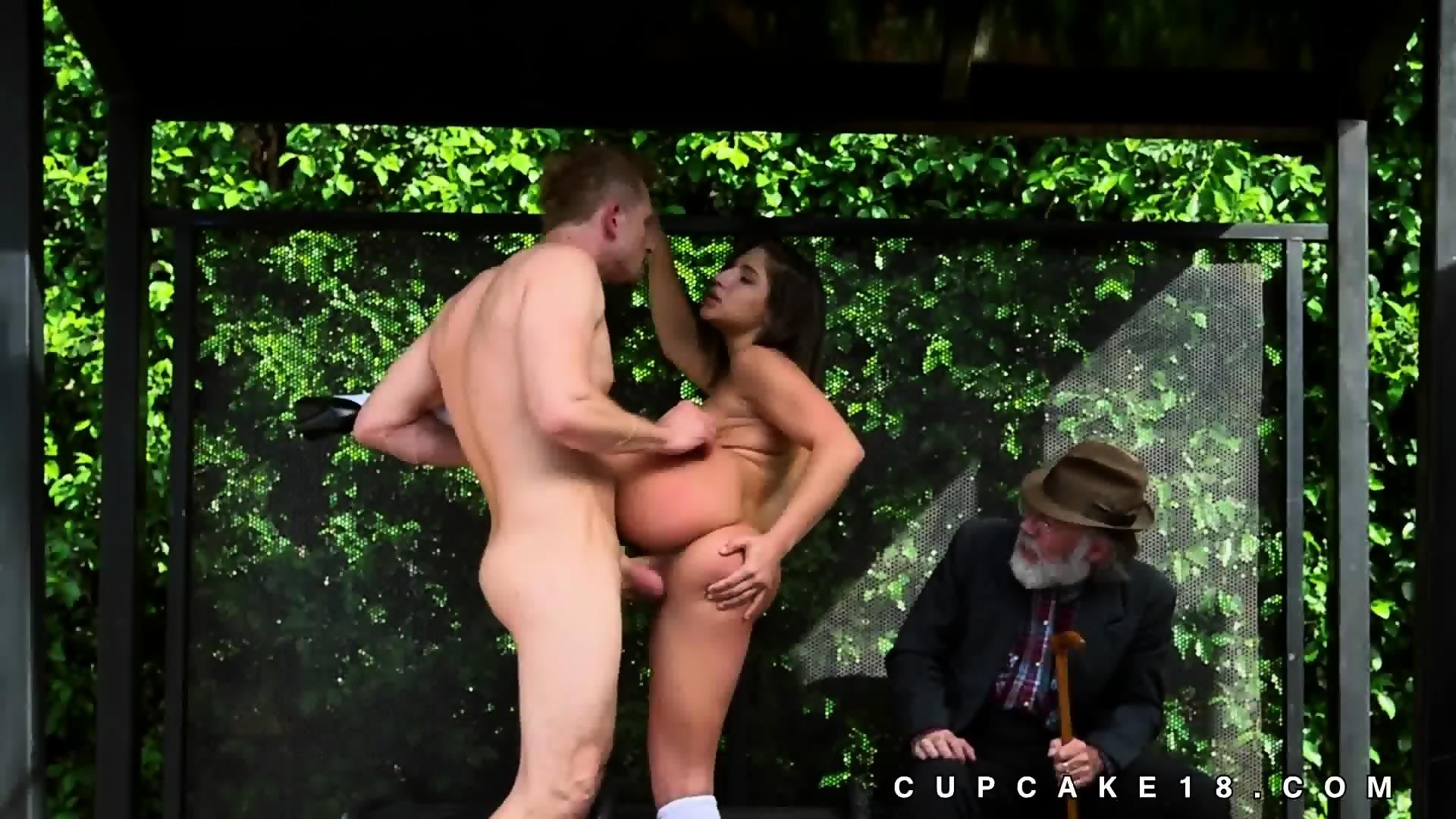 sex scene in public