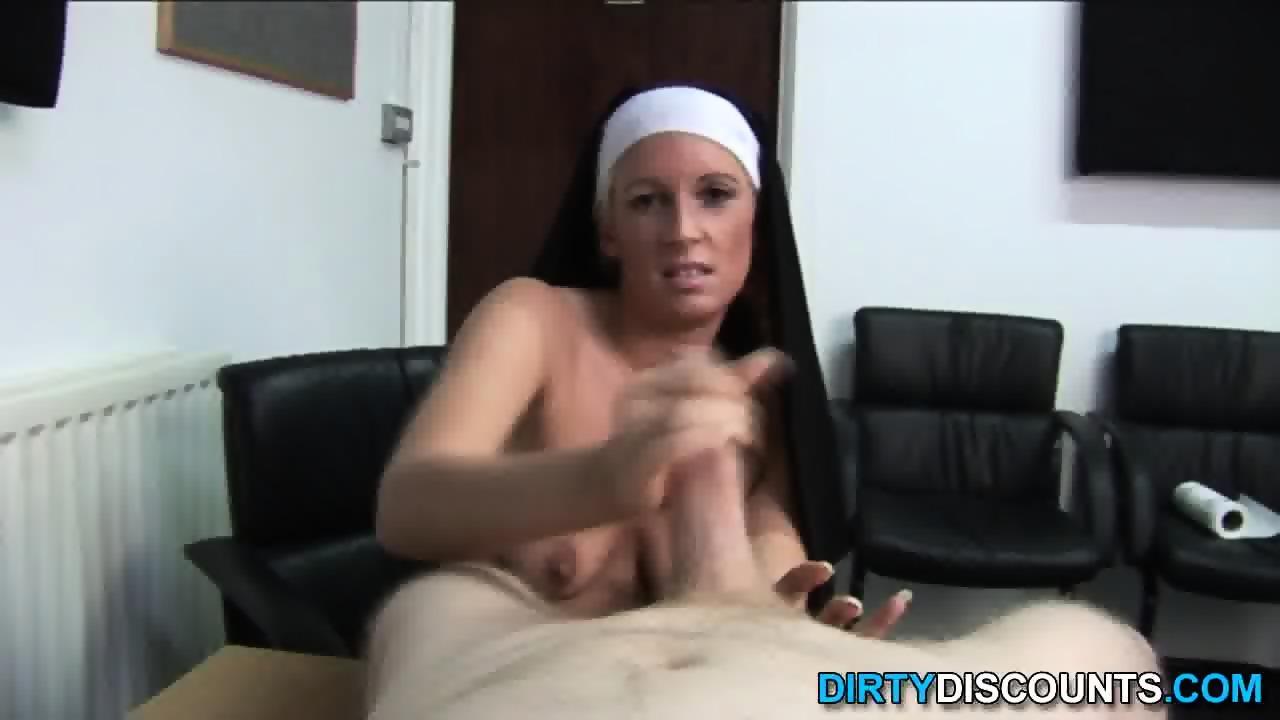 Nuns eating cum