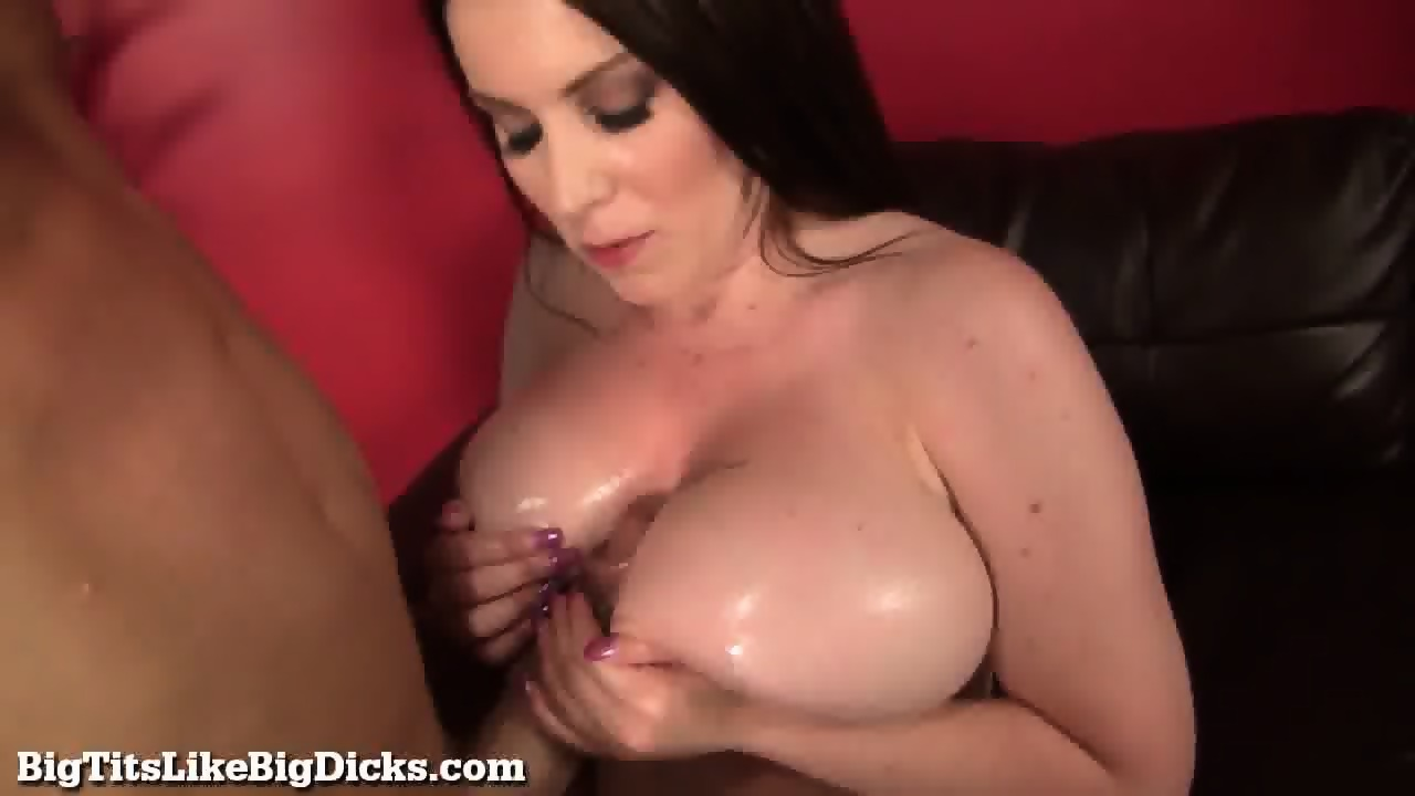 Can Busty tits and cock are