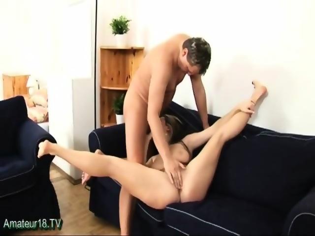 Acrobatic sex with flexible bianca