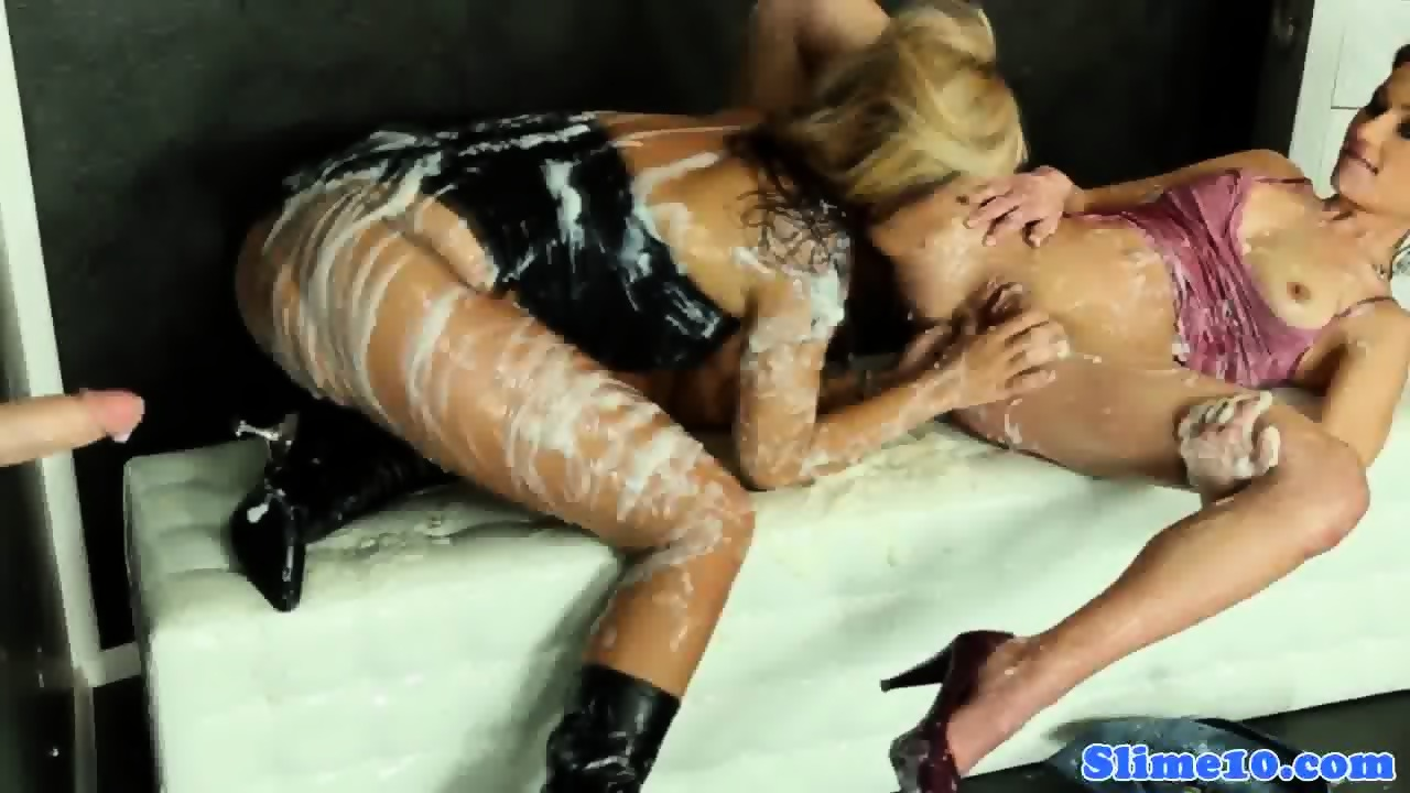 Classy femdom demands anal in cfnm group 1