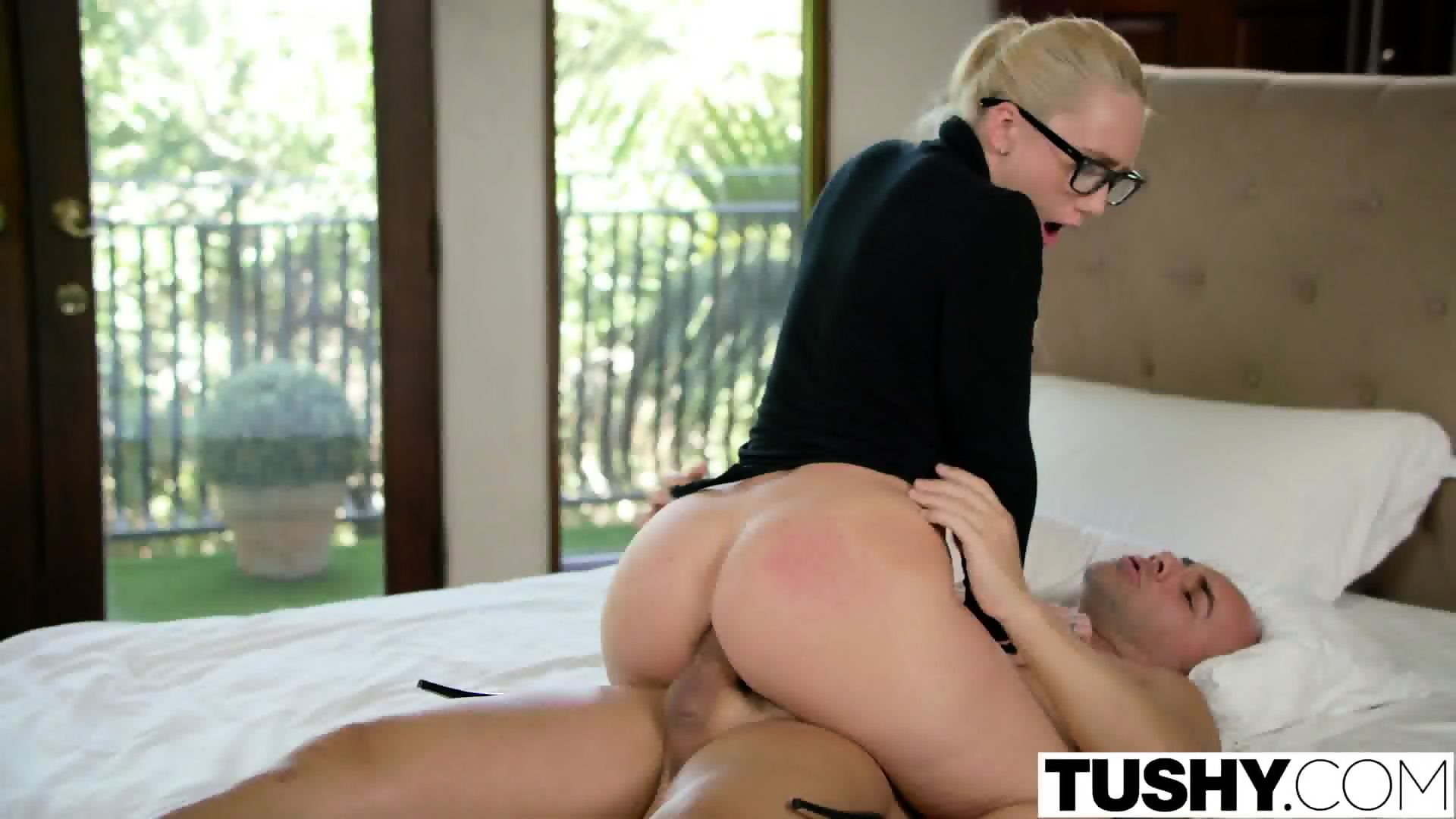 image Tushy curvy aj applegate punished by her boss