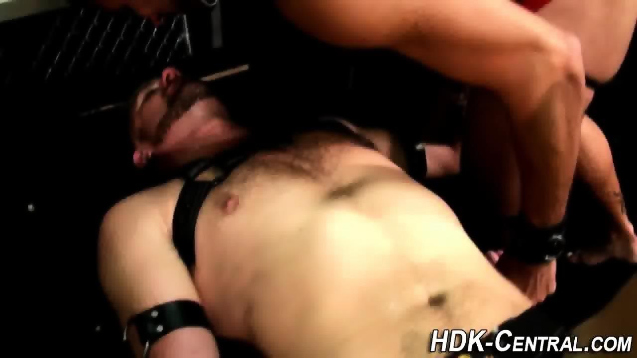 leather stud gets jizz