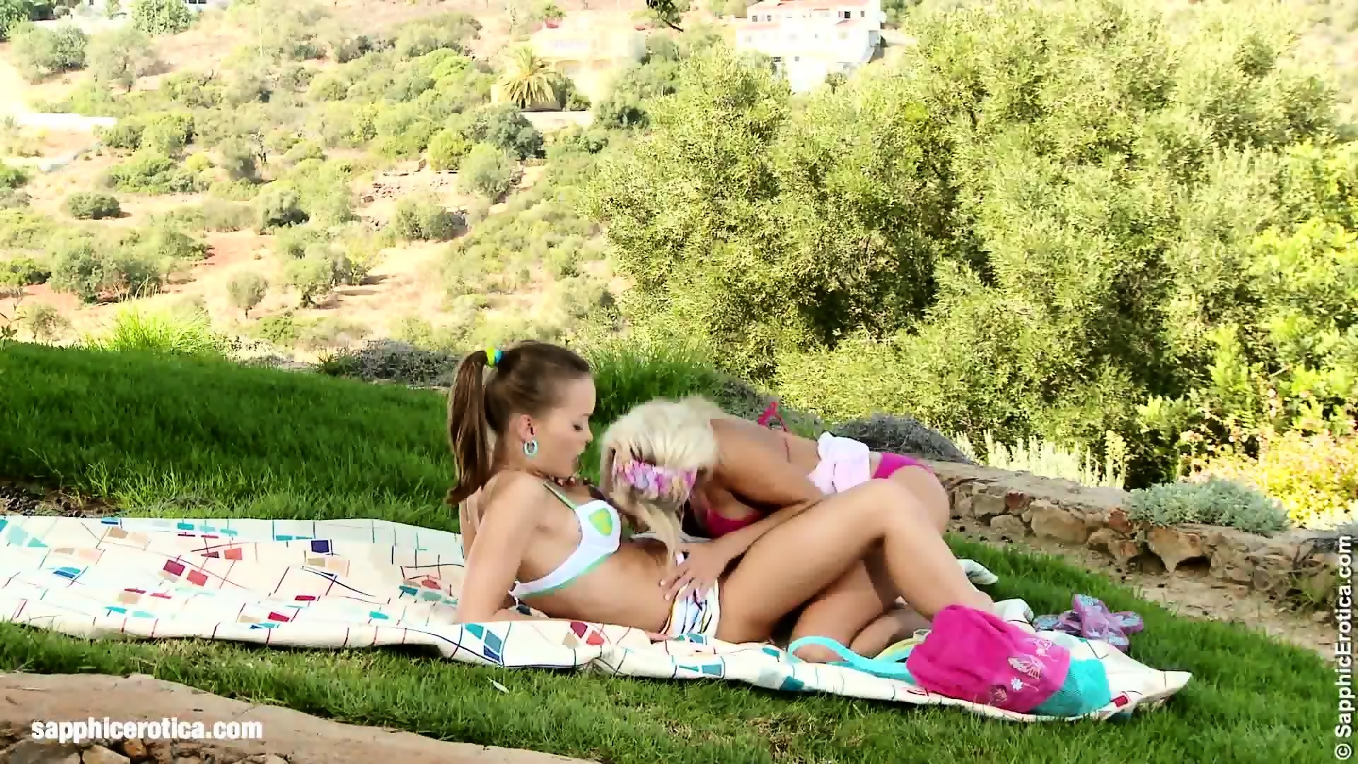 Tonguing temptations by sapphic erotica lesbian love porn with dara ane 3