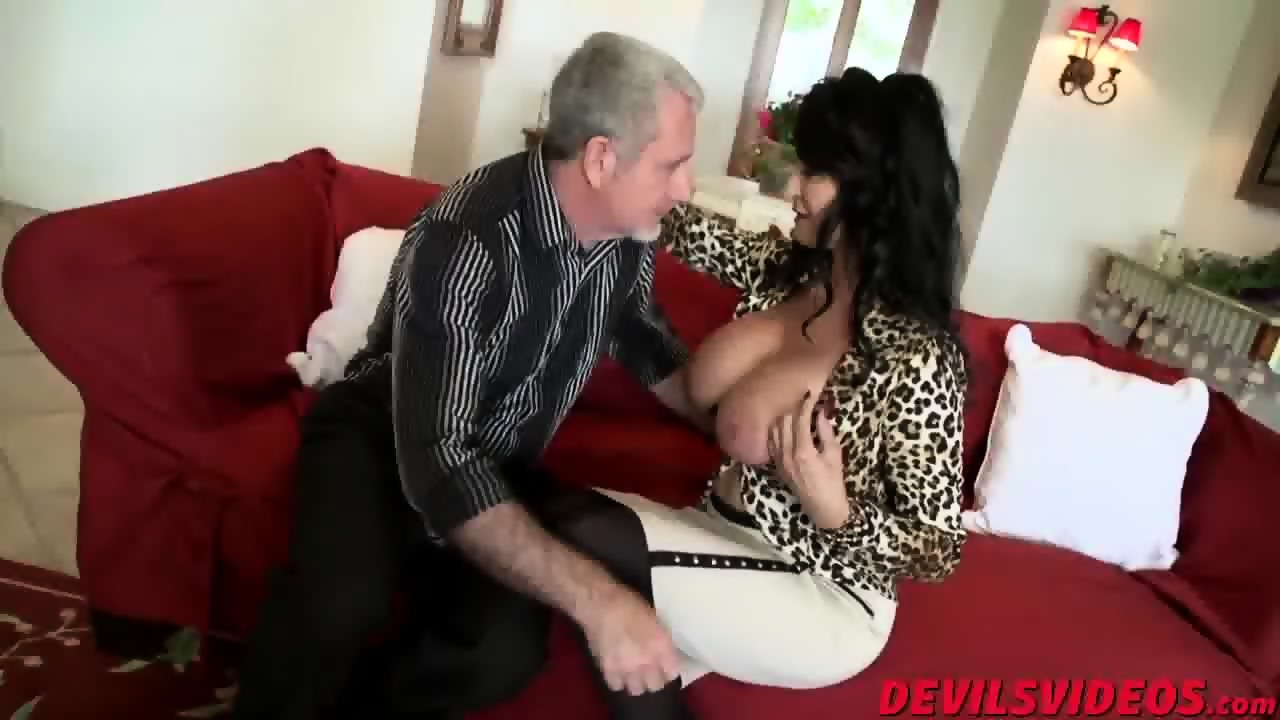 an old guy fucking two pawgs