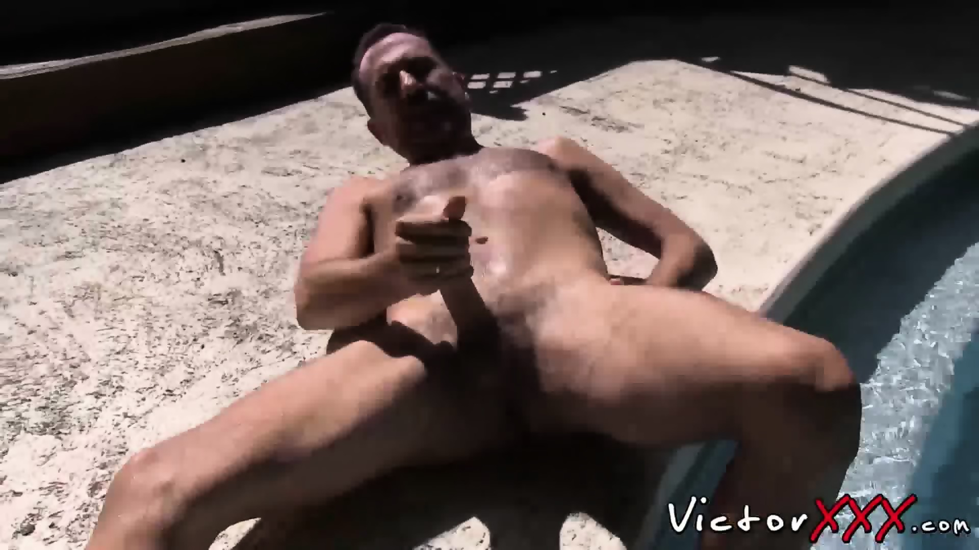 Male Nipple Play Masturbation