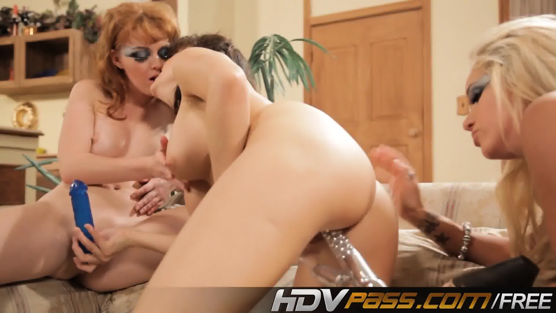 Horny Marie Mccray Playing With Dildo
