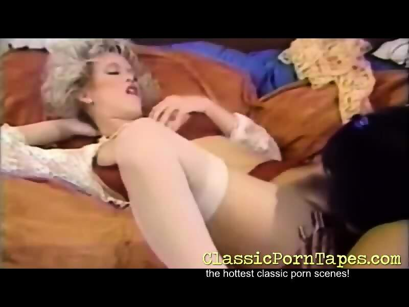 Classy gorgeous lesbian fun with two beauties