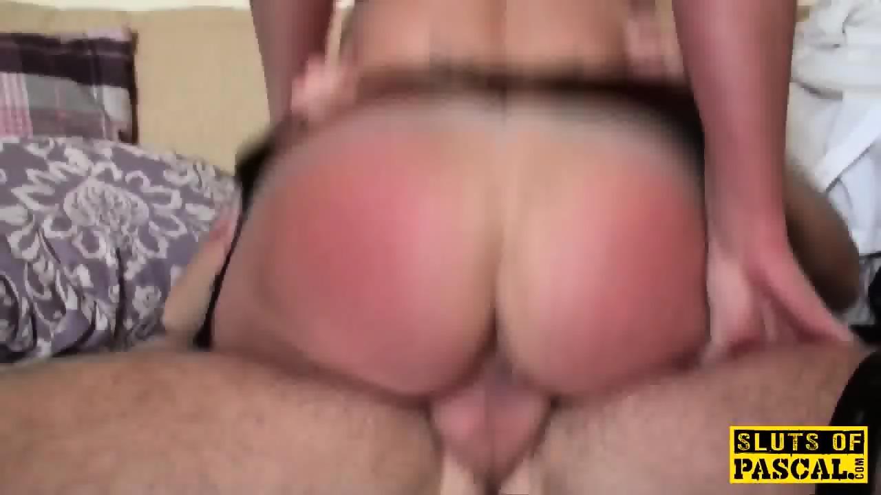 Bible bashing sub slut doggystyled 9