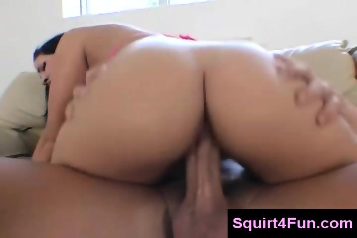 Fat White Ass Riding Dick