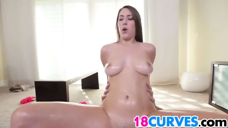 Fucked from behind muscle girl