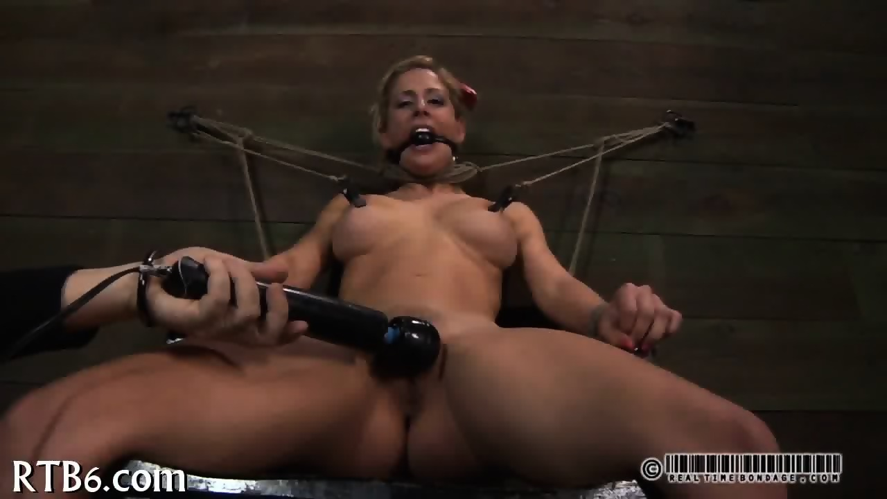 Tormented slave is giving