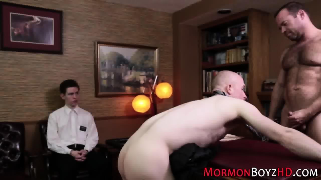bound mormon barebacked