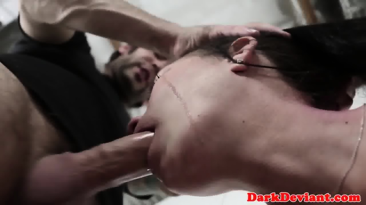 Submissive bigbitted skank pounded roughly 9