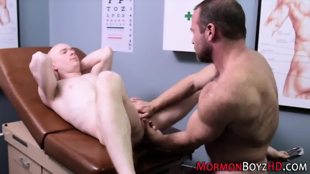 Mormon Bishop Rubs Ass