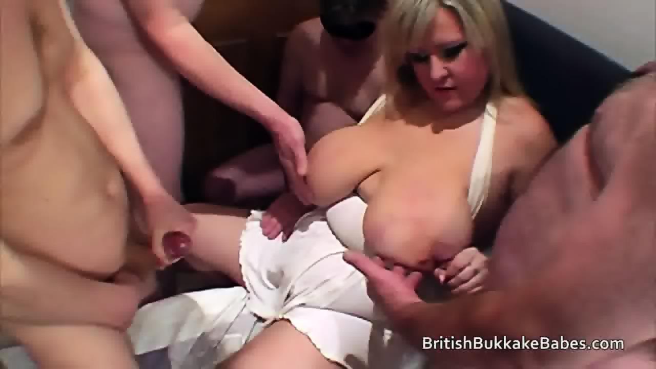 cumshot tits Mature huge
