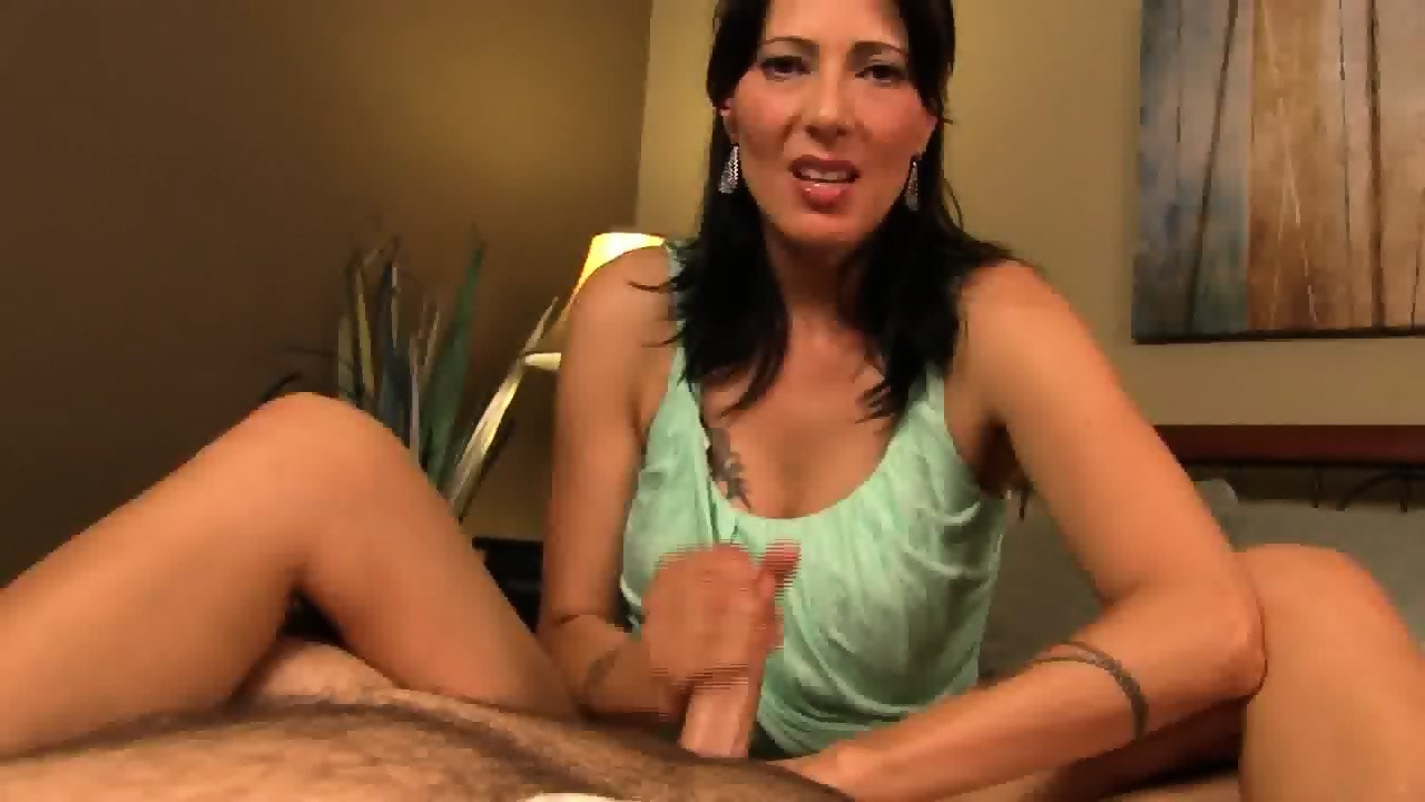 Step Mom Strips Step Son