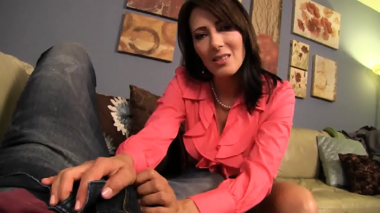 Zoey gives amazing handjob and footjob 6