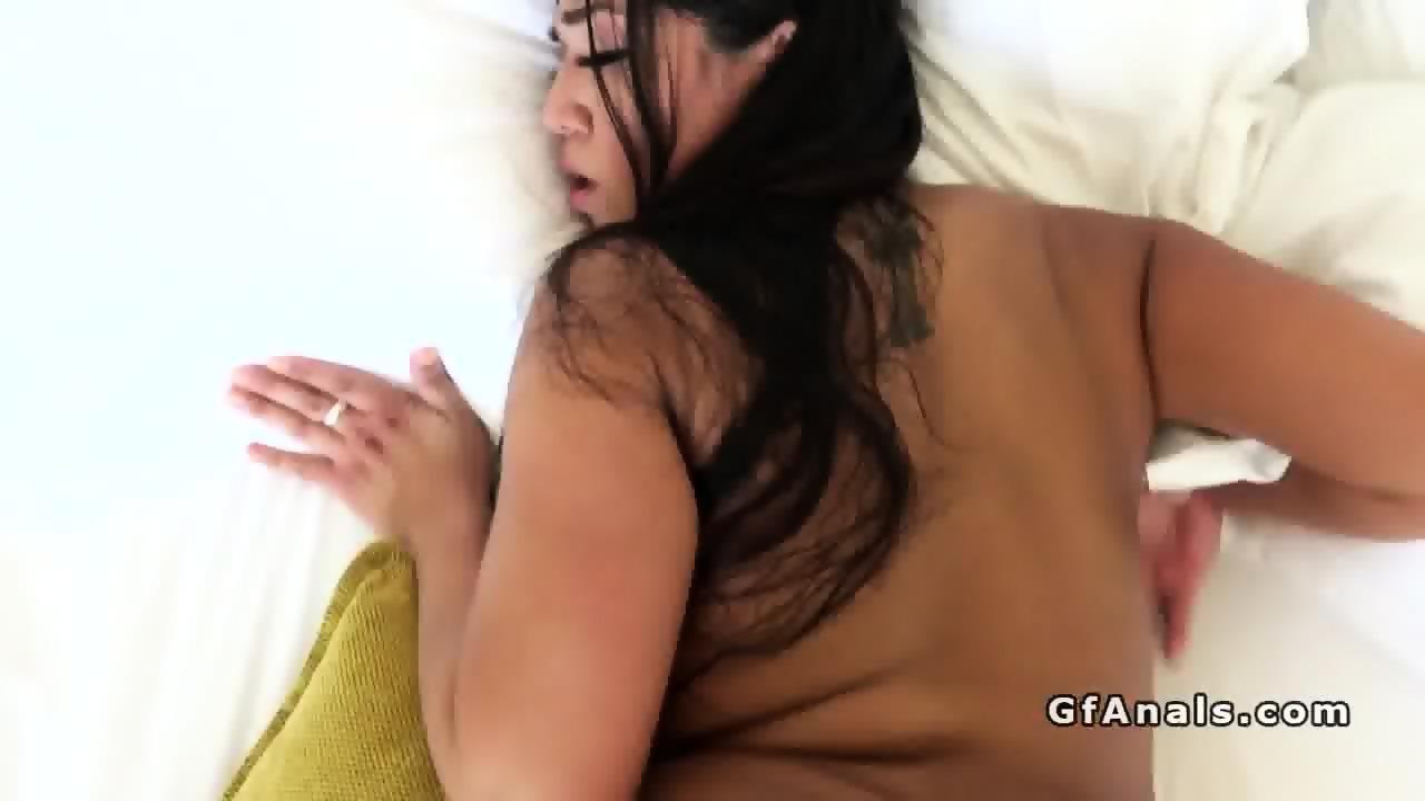 big booty gf in stockings anal banged pov - eporner