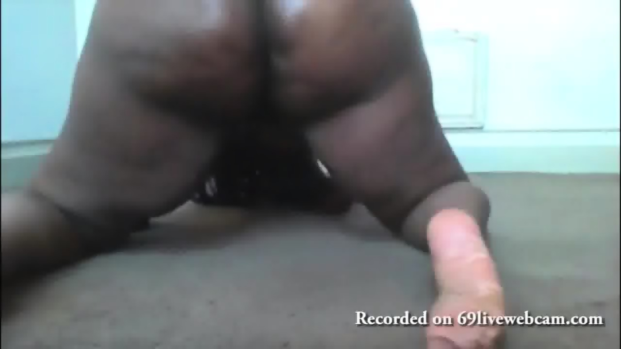 Black Girls Double Dildo