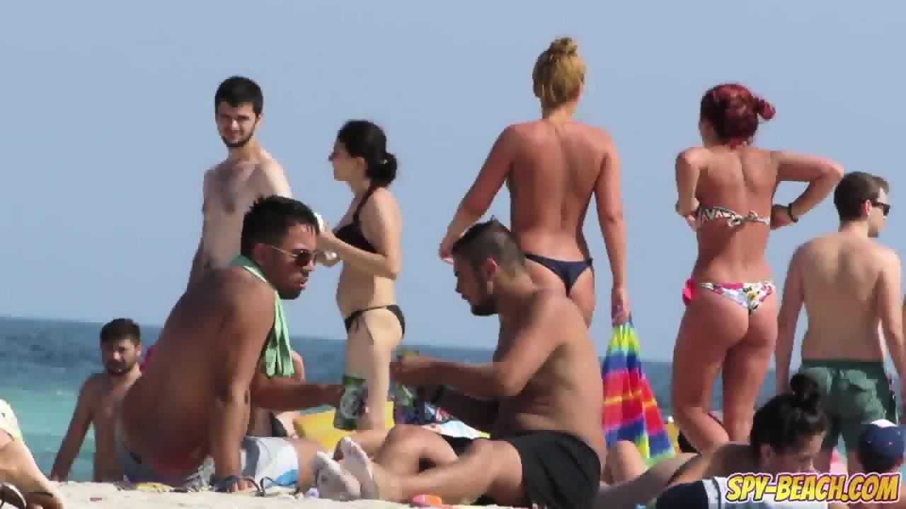 bikini spy Beach