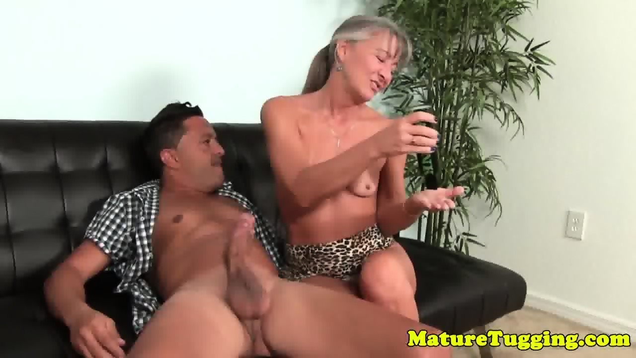 tanlined gilf strokes cock with passion - eporner