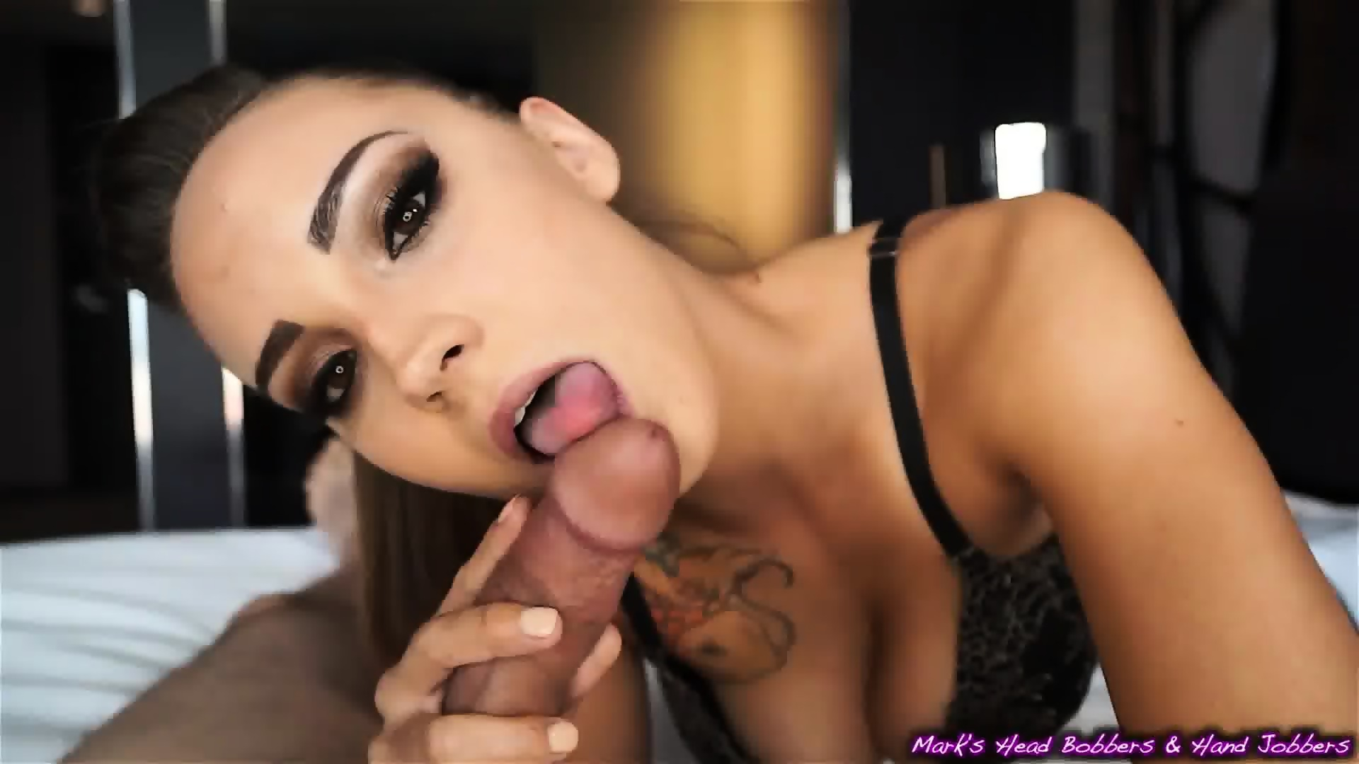Female orgasm and blow job