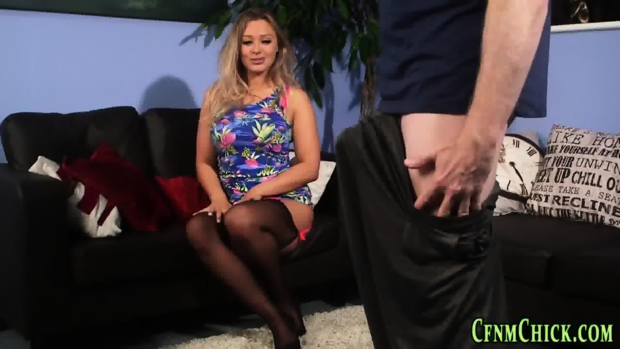 Adobable slut giving an incredible handjob Part 5 2