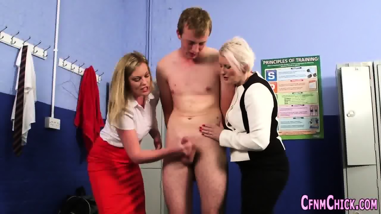 Adobable slut giving an incredible handjob Part 5 4