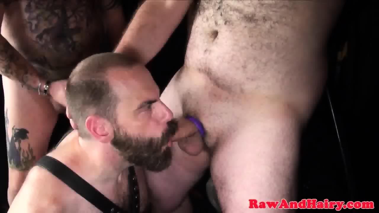 Wild bushy muscle sex