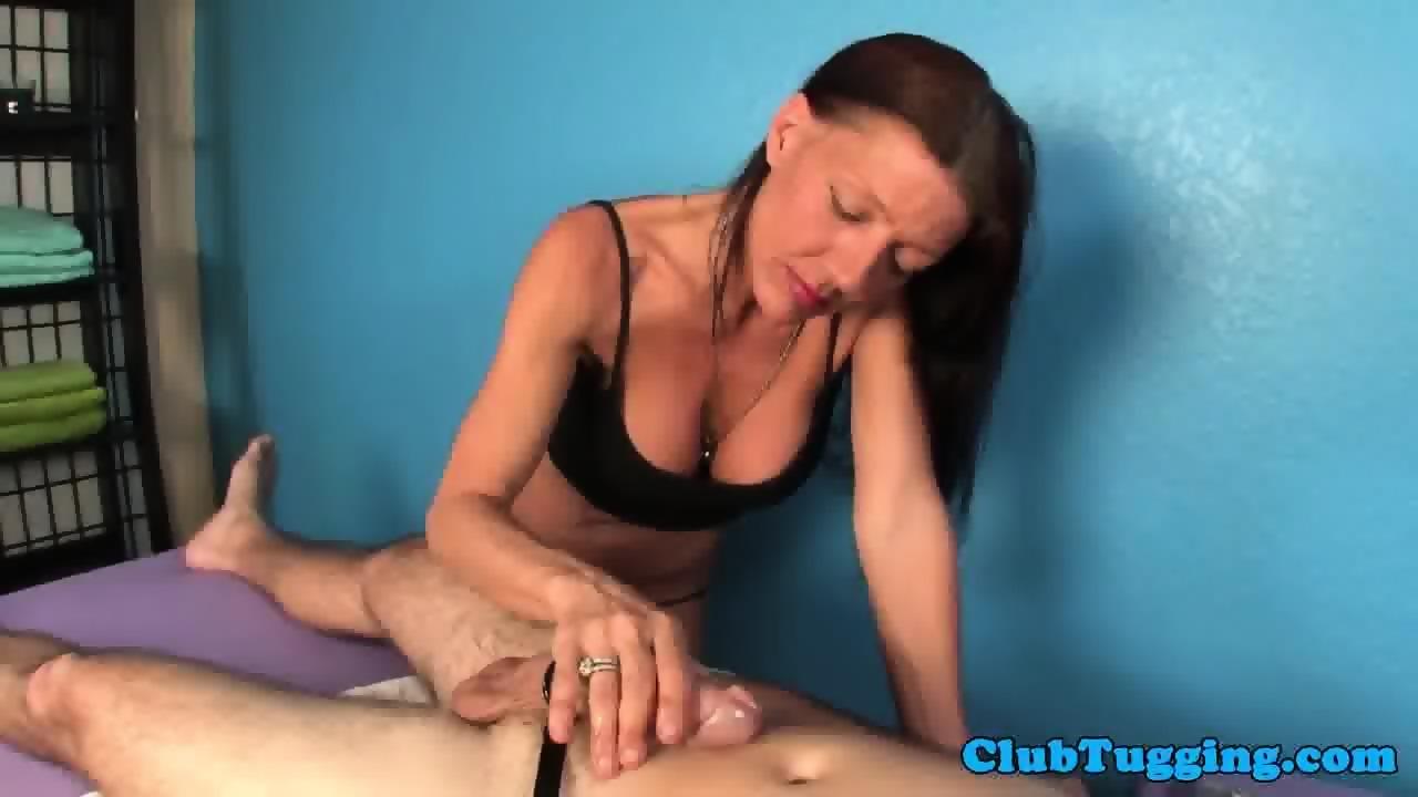 Mature masseuse