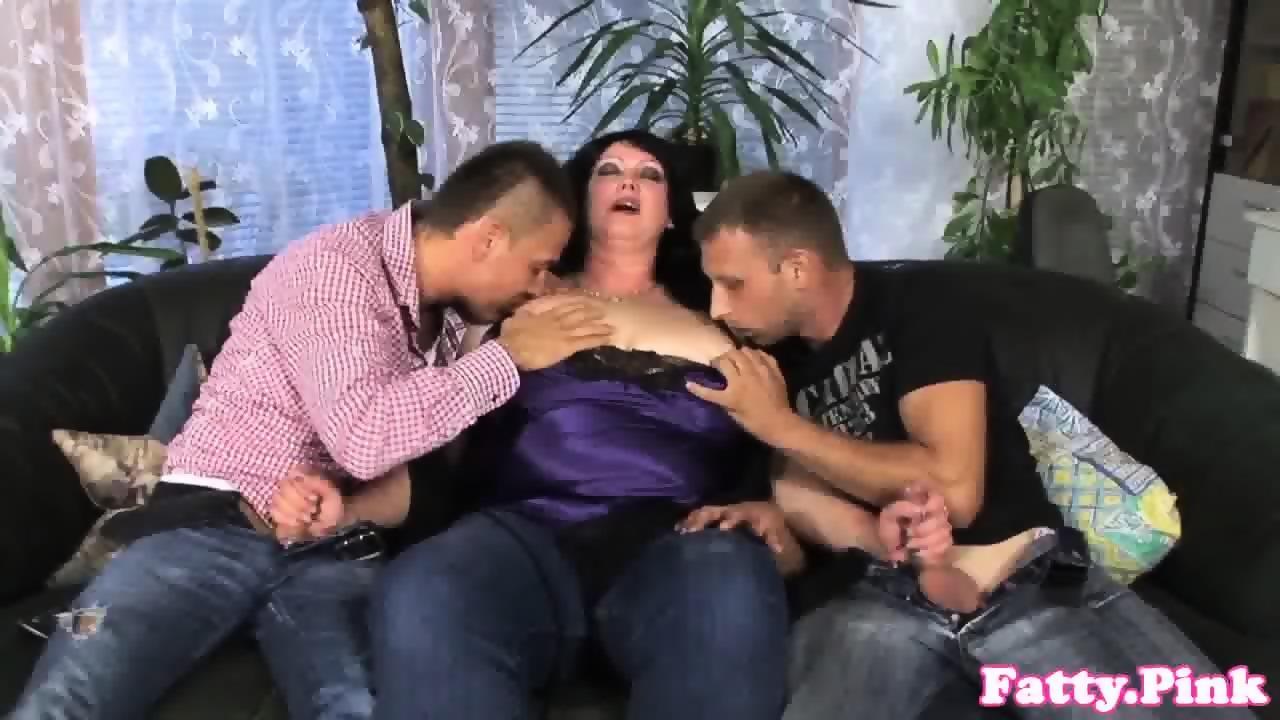 Milf fat threesome