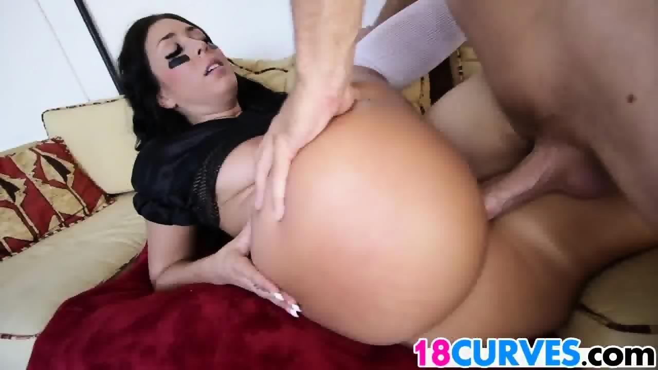 Latina ass slammed