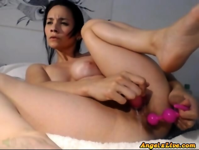 Latina Amateur Reverse Cowgirl