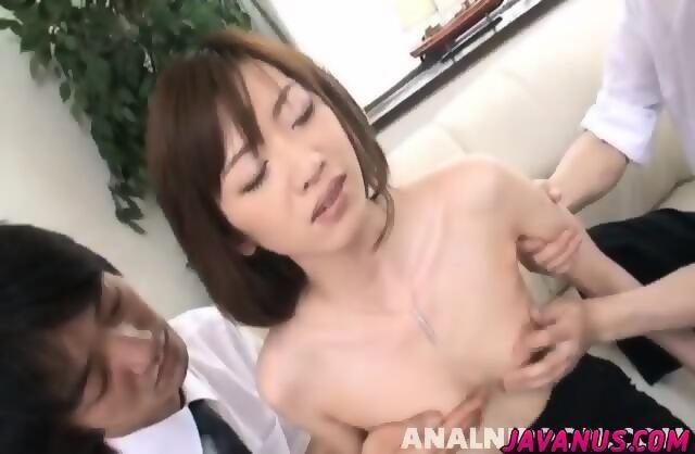 steamy threeway ass penetration