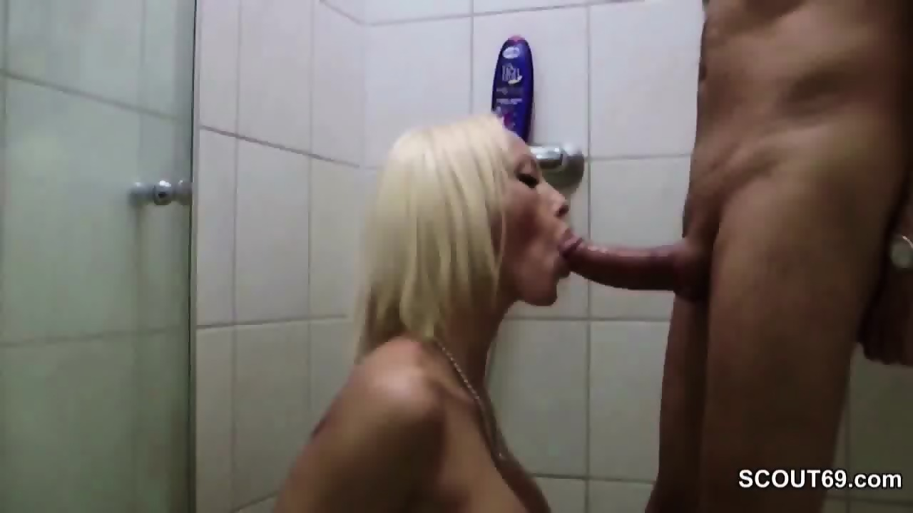 german fuck in shower