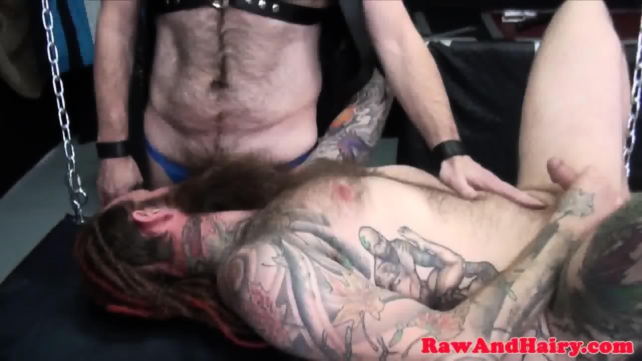 Rawly assfucked chub enjoys otters dick