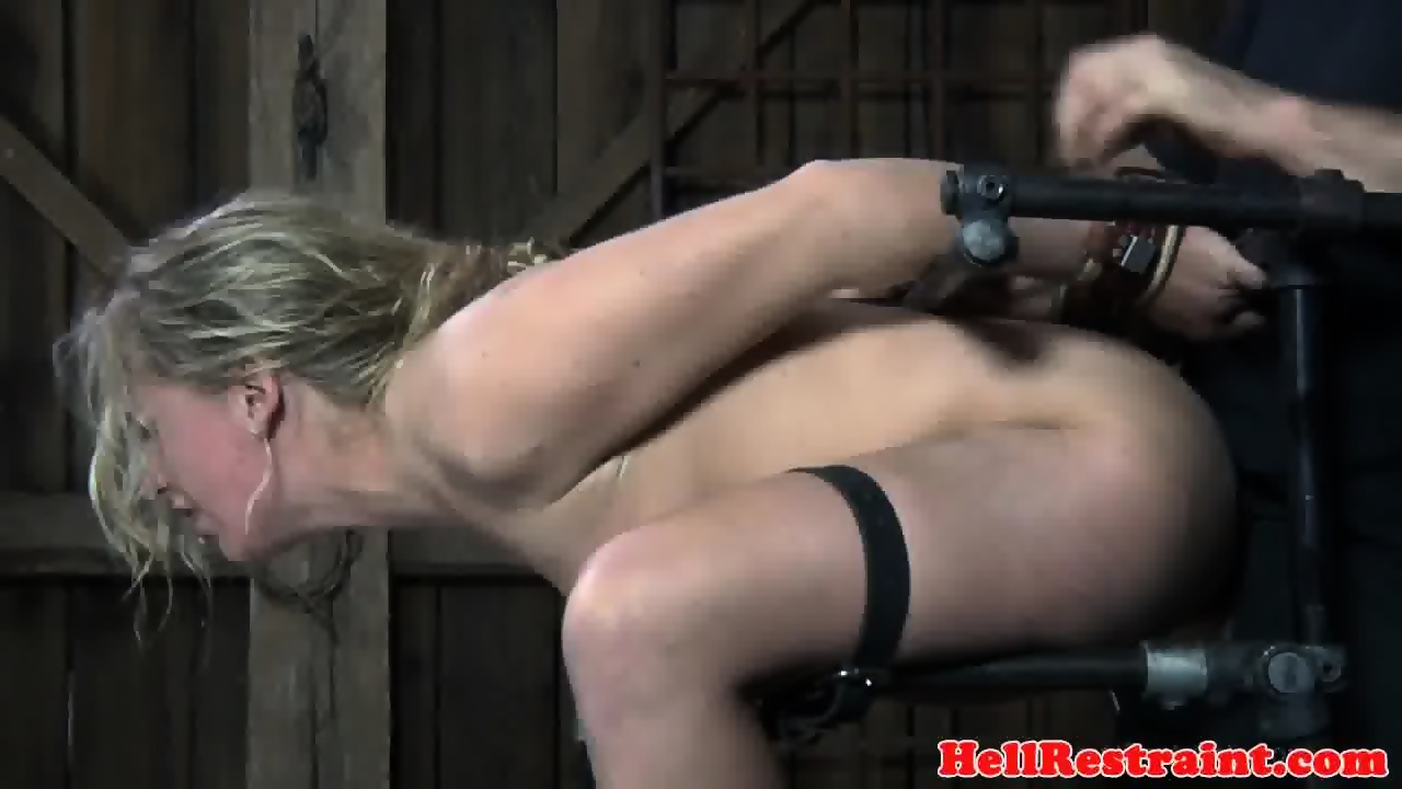 Shackled bdsm sub dominated by this maledom - scene 11