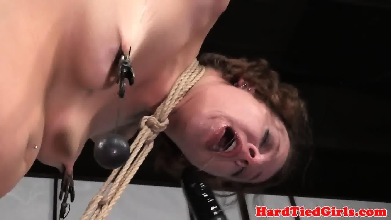 Female deep anal penetration