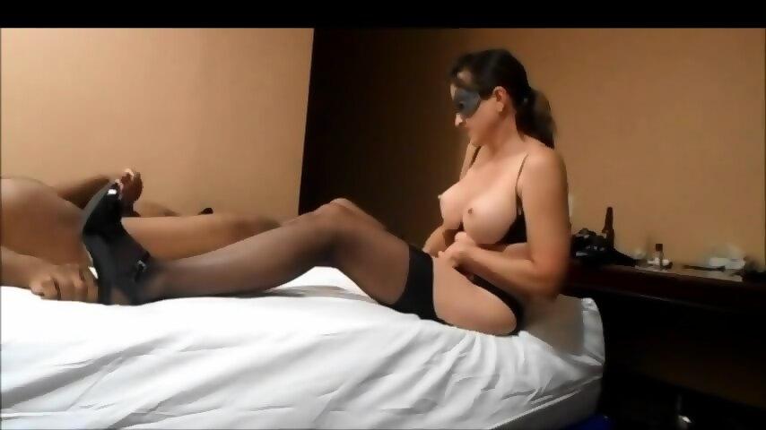 Big Tits Stepsister Working On Brothers Big Dick