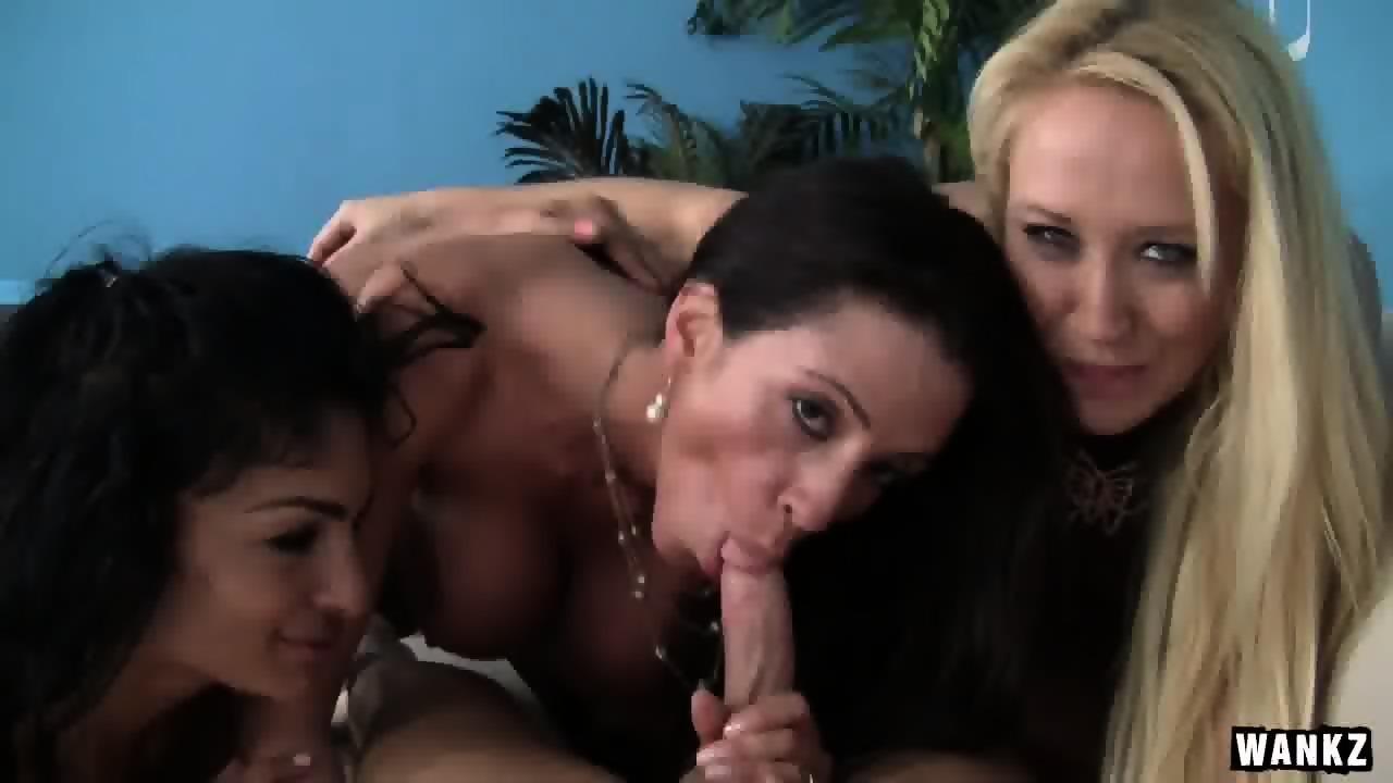 Three cougars porn
