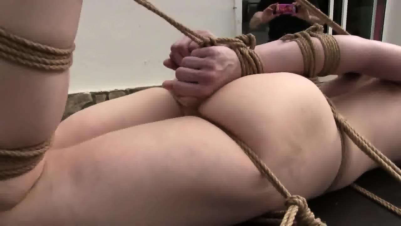 Strict rope bondage