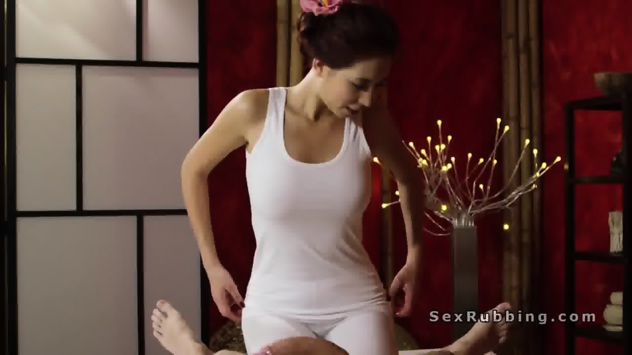Asian two handed handjob