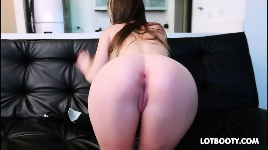 Small tits big ass latina